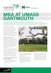 mba at umass dartmouth - Students International