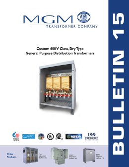 600 volt class k factor rated guide spec Mgm Transformer Wiring Diagram custom 600 v class, dry type general purpose distribution mgm transformer wiring diagrams