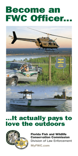 Become an FWC Officer - Florida Fish and Wildlife Conservation