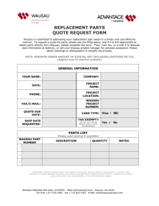 replacement parts quote request form