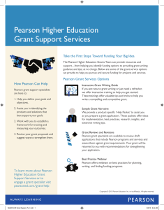 Higher Ed Grant Services