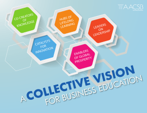 collective vision - AACSB International
