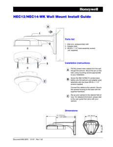 HEC12/HEC14-WK Wall Mount Install Guide