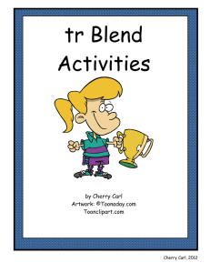 tr Blend Activities