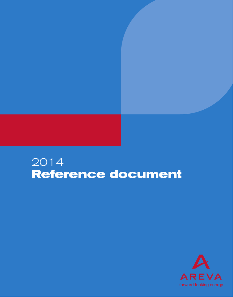 2014 Reference document