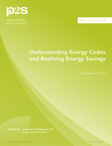 Understanding Energy Codes and Realizing