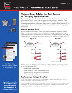 Voltage Drop: Solving the Root Causes of Charging System Failures