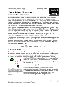 Essentials of Electricity 1 - VCC Library