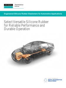Engineered Silicone Rubber Elastomers for