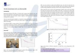 T Thin film characterization with x-ray reflectivity (XRR