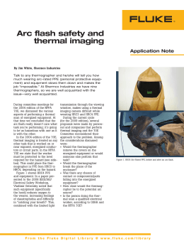 Arc flash safety and thermal imaging