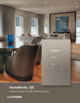 lutron homeworks qs crestron module