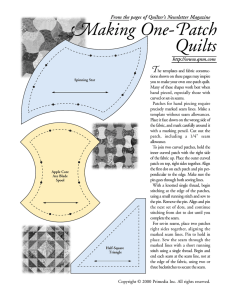 One-Patch Quilts from Quilter`s Newsletter