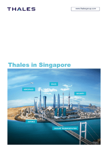 Thales in Singapore