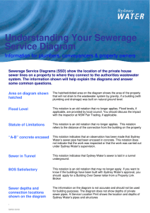 Understanding Your Sewerage Service Diagram