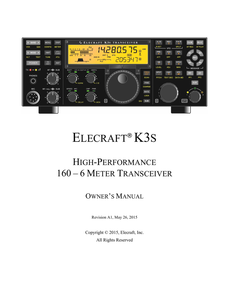 K3s Owners Manual Powerline Carrier System Transmitter For Audio Music Speech