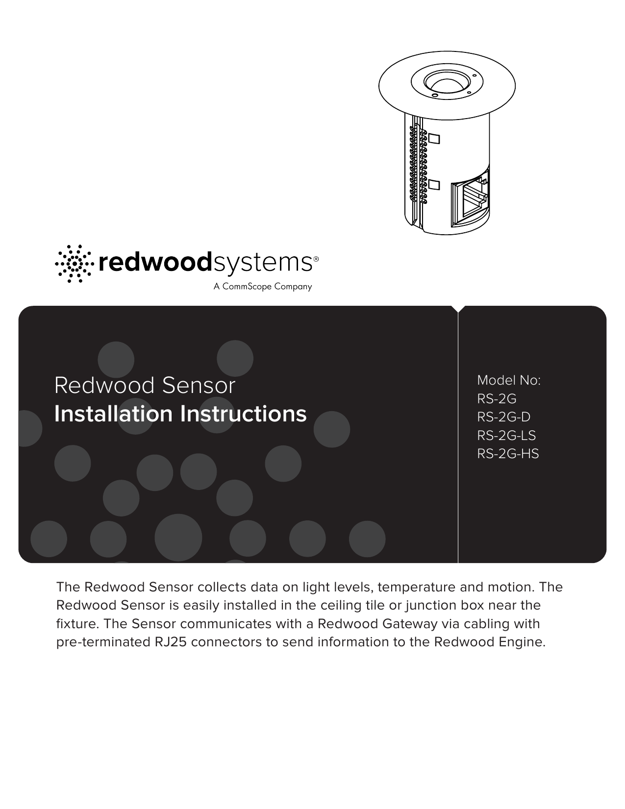 Redwood Sensor Installation Instructions Rj25 Wiring Diagram For Connector 018408636 1 2b323720b882b8707c1fd0e0a27e10fc