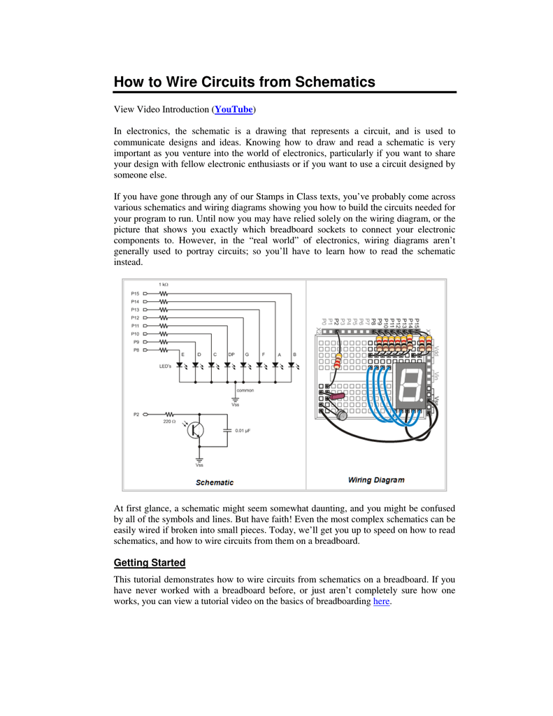 Super How To Wire Circuits From Schematics Parallax Forums Wiring Cloud Usnesfoxcilixyz