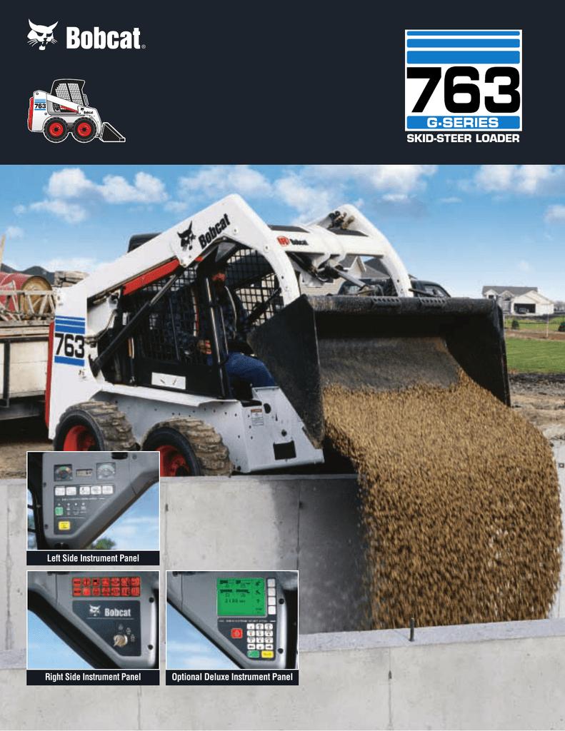 763 Loader Spec Sheet b-1723 Ver 06/01 LR SCREEN