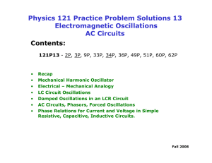 Physics 121 Practice Problem Solutions 13 Electromagnetic