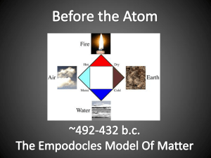 Dalton`s Atomic Theory 1) All matter is made of atoms. Atoms are