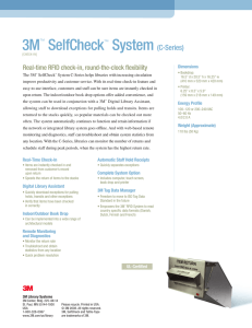 3M™ SelfCheck™ System (C-Series)