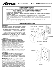 important safeguards read and follow all safety instructions save