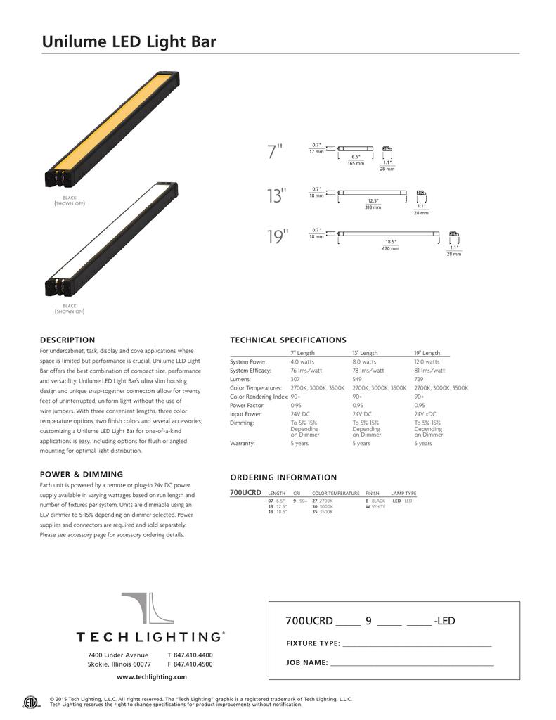 Unilume Led Light Bar