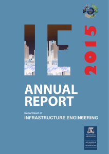 2015 annual report - Infrastructure Engineering