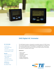 549 Digital AC Ammeter