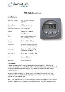 A60 Digital Ammeter - Innovative Energies