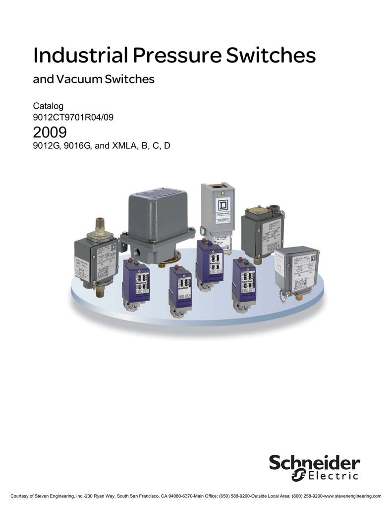 Fixed Scale 1 Threshold 1 C//O Telemecanique Sensors XMLA002A2S11 XMLA Pressure Switch 2.5 bar