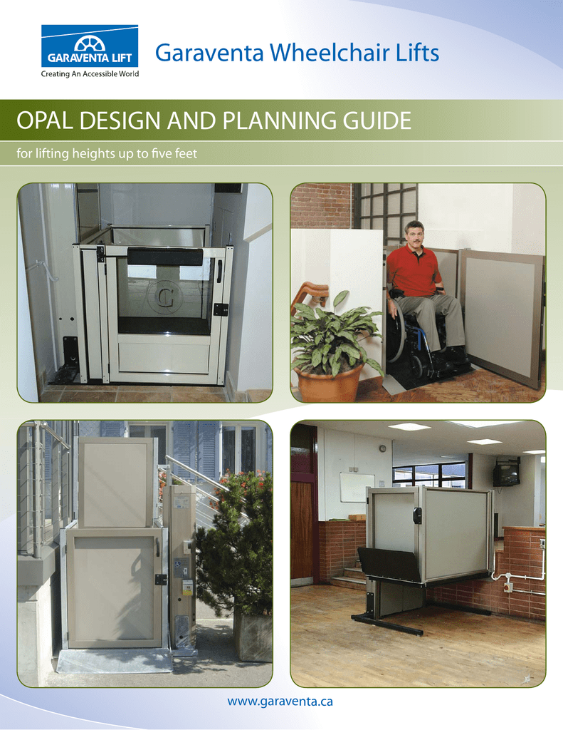 Genesis OPAL Vertical Lift Design and Planning Guide on
