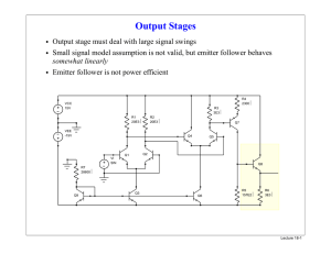Output Stages