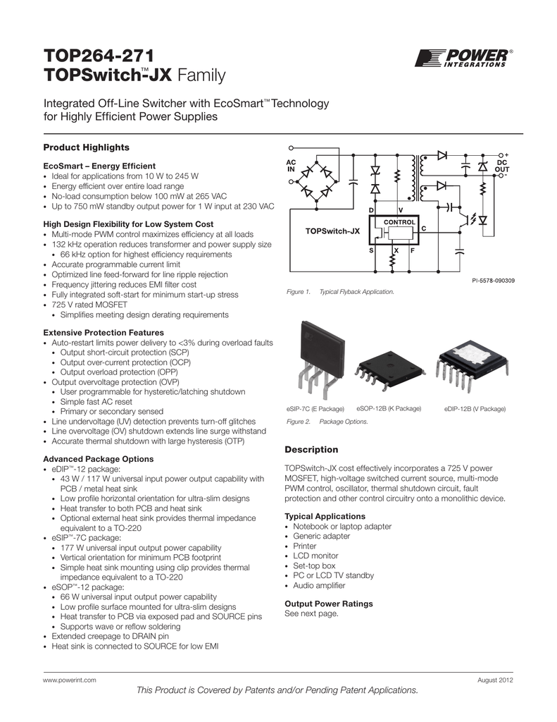 Datasheet Mouser Electronics Linear Optocoupler Circuit Soft Start For 12 Volt Halogen Lamps