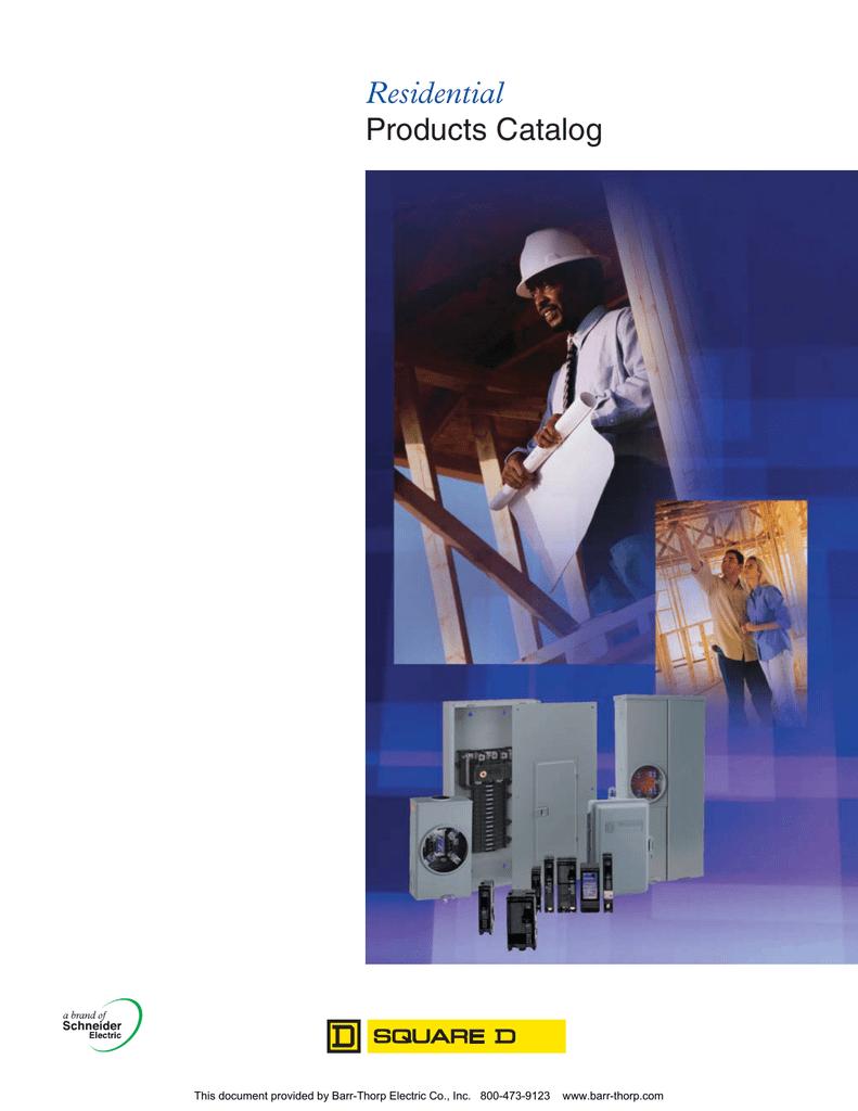 Residential Products Catalog Barr Square D Qo Qwikgard 15 Amp Singlepole Gfci Circuit Breaker