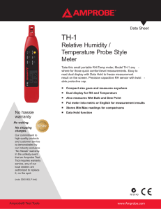 TH-1 Datasheet