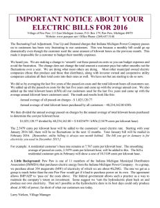 important notice about your electric bills for 2016