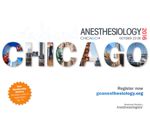 ASA Anesthesiology 2016 Meeting Brochure