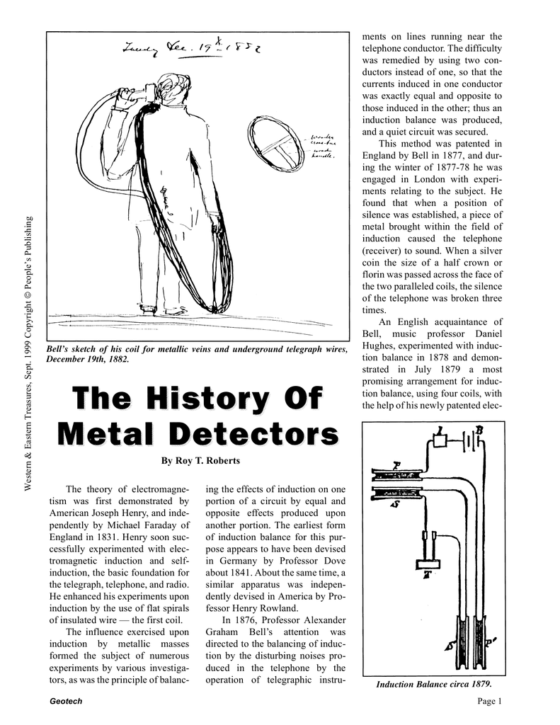 History Of Metal Detecting Pulse Induction Detector Circuit As Well