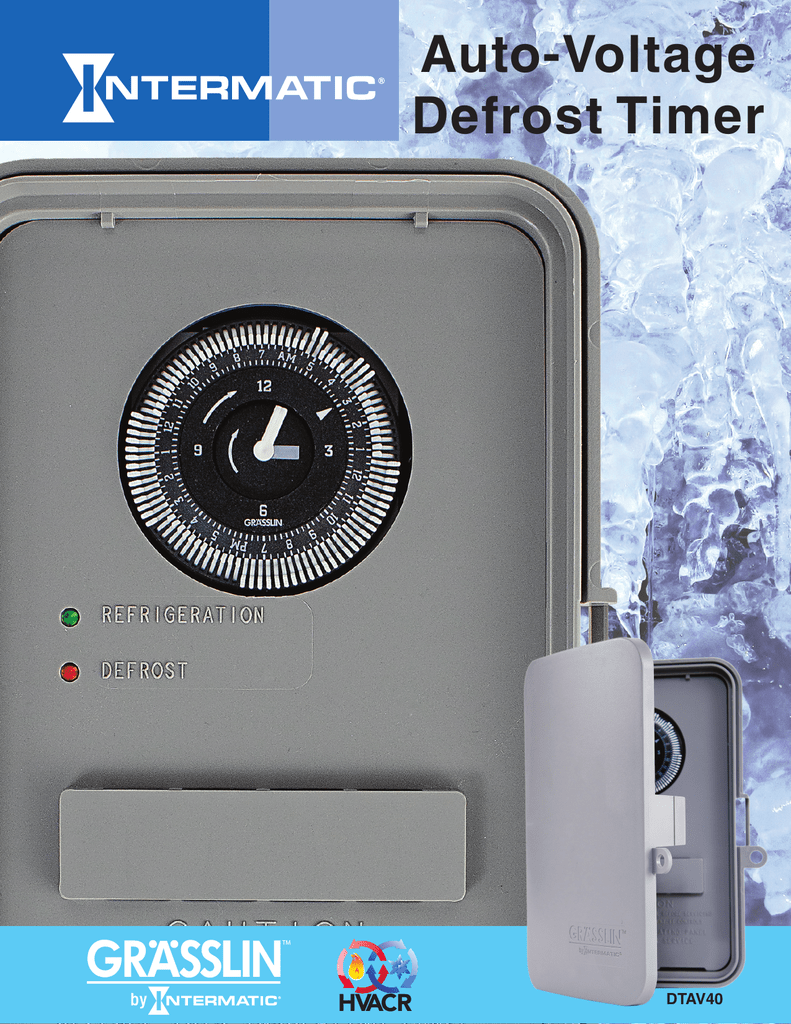 Grlin Dtav40 Defrost Timer Wiring Diagram Thermostat With Ladder Auto Voltage On Circuit