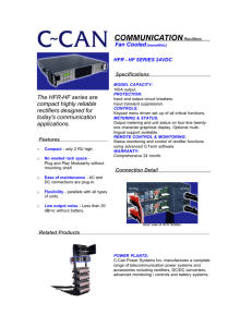 COMMUNICATION - C~Can Power Systems Inc