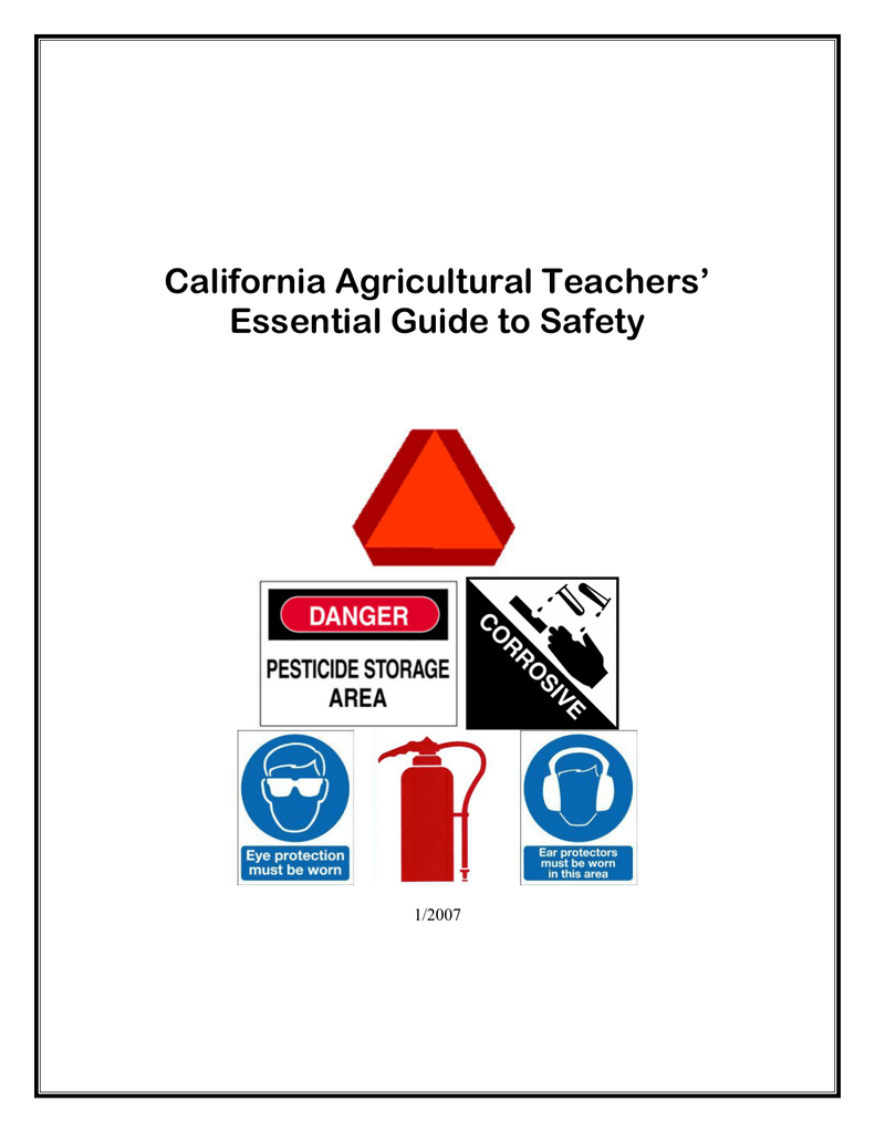California Agricultural Teachers Essential Guide To Safety Howtotiethebowtieknottyinginstructionspng