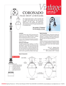 coronado - Pemco Lighting