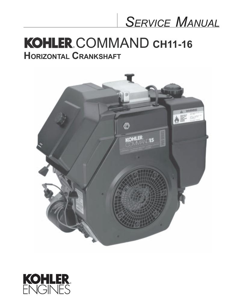 Command Ch11 16 Kohler Engines Engine Electrical Diagram Economy