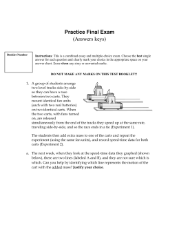 Practice Final Exam (Answers keys)