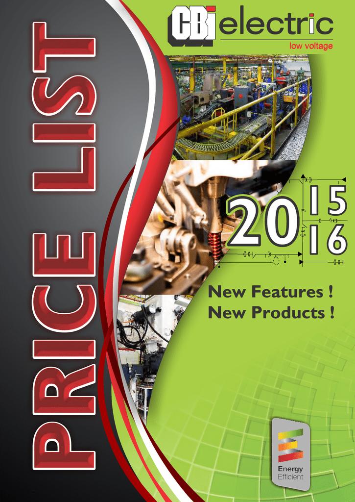 Wondrous Price List 2016 Cbi Electric Circuit Breaker Industries Wiring Cloud Inamadienstapotheekhoekschewaardnl