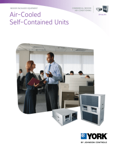 Air-Cooled Self-Contained Units