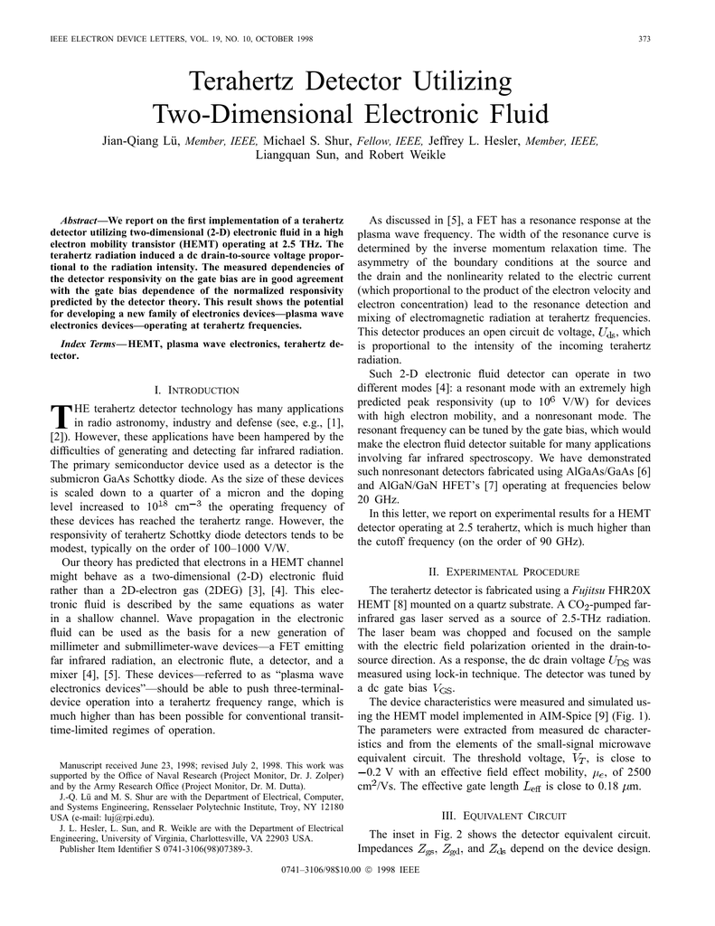 IEEE Electron Device Letters