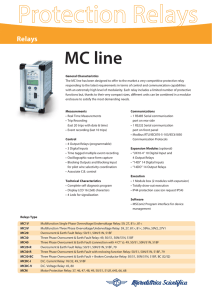 MC line - Microelettrica Scientifica